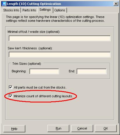 FAQ about 1DCutX - Excel linear cut optimizer
